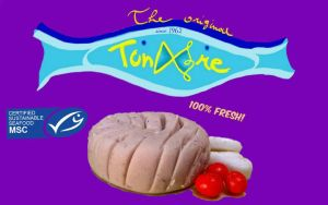 Canned tuna 'Tunare' logo by WithATouchofFantasy