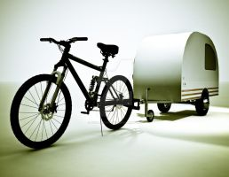 Bicycle Mini Camper Design 3 by sicklilmonky