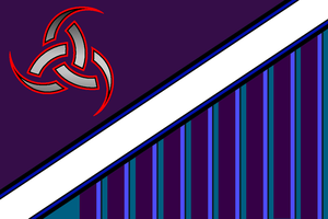 Norse-themed Flag by iRuleAllTehPies