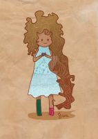 Curly Girl by Renacido