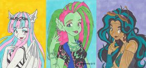 Monster High - Ghoulfriends by rajamitsu