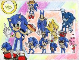 Sonic's everywhere by heitor-jedi