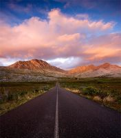 Cotton Candy Clouds by hougaard