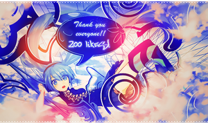 Thank you everyone by XxAjisai-GraphicxX