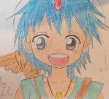 Magi with color by francineli