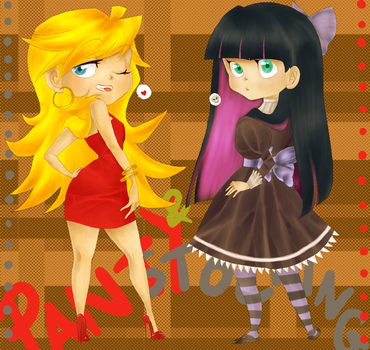 + Panty and Stocking + by MADxxasxaHATTER