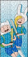 Bookmarks - Adventure Time: Finn/Fionna by agent-ayu