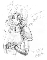 Another young Acate sketch by The-Last-Silver-Moon