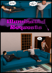 Illuminated Requests Page 01 by JBovinne