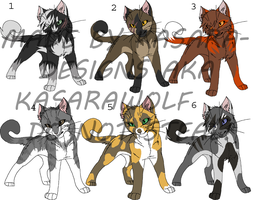 Cats for Amgelofdeath234 by Kasara-Designs
