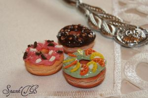 Donuts Closeup by SpankTB