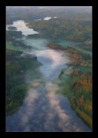 Mist On The River by 2air