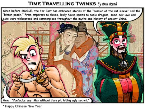 Time Traveling Twinks 11 by REBELComx