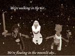 We're walking in the air... by Sophie-Lou93