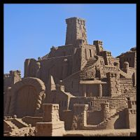 The Sand Castle by kikwasar
