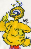 Big Bird by EeyorbStudios
