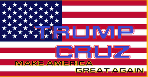 Make America Great Again Trump Cruz by bagera3005