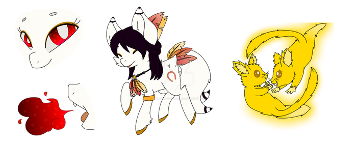 Foxy Pony Contest Entry by moonpaw-of-Shadclan
