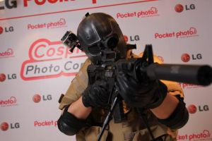 PopCon 2013 - Army of Two's Salem Cosplay by last69skulls