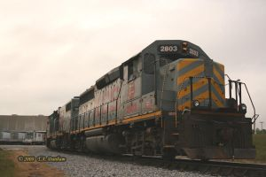 KCS 2803 at Gentry by labrat-78