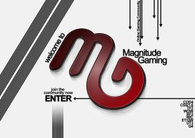 Magnitude Gaming Intro page by DarylBrunsden