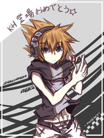 TWEWY - Neku by peachmomo