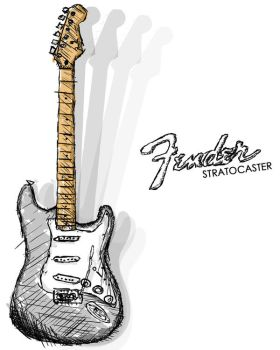 Stratocaster by SuperNES