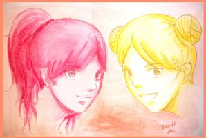 Request 1: Michiko and Miwa :D by MoPotter