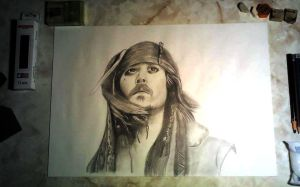 Jack Sparrow by Wyl12