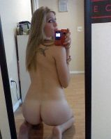 rear view self shot by badjenny
