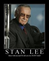 Stan Lee Motivational Poster by ddm92392