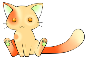 Apricot Kitty Adoptable: OPEN by MuffinAdopts