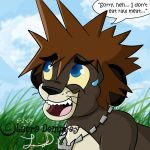 KH - Sora won't eat Raw Meat by Perry-the-Platypus