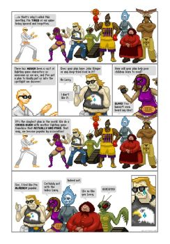 Obscurity Fighter Web Comic - Comic # 1 by gavacho13