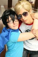 John + Dave Cosplay: Bros by Abessinier