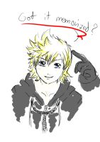 roxas says...-speed paint- by kaddabo