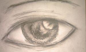Realistic Eye by JSyLuc123