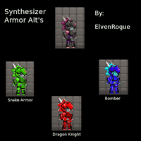 Synthesizer alts - starbound by elvenbladerogue