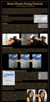 Basic Photo Fixing Tutorial by scarlet-rain