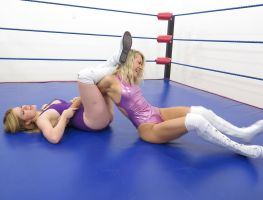 JACQUELYN vs BECCA: PRO STYLE # 2 by sleeperkid