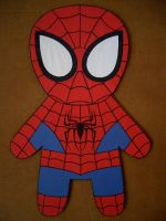 Spider-man Cutout by iliketodoodle