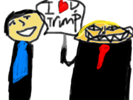 I Love You, Trump by Jeb-Is-A-Mess
