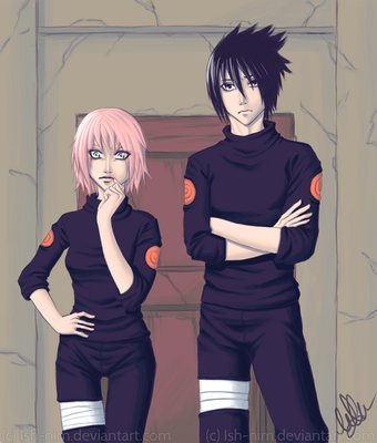 SasuSaku - Hokage Summons by Laine-O