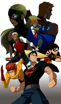 Young Justice by Sii-SEN