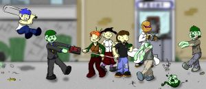 Cast - the undead by drinkdecaf