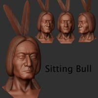 sitting bull 2 by mrajeev1