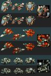 cartoonish spaceships by dominicjan