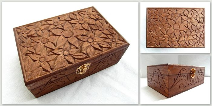 FLORAL BOX by MassoGeppetto