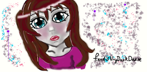 My First Ever Graphic Tablet Drawing :) by FiendishlyDarkDesire
