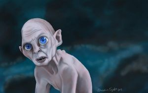 Gollum by Breezy-Bird